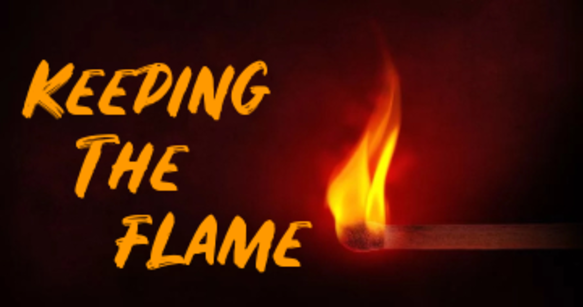 Poem: Keeping The Flame
