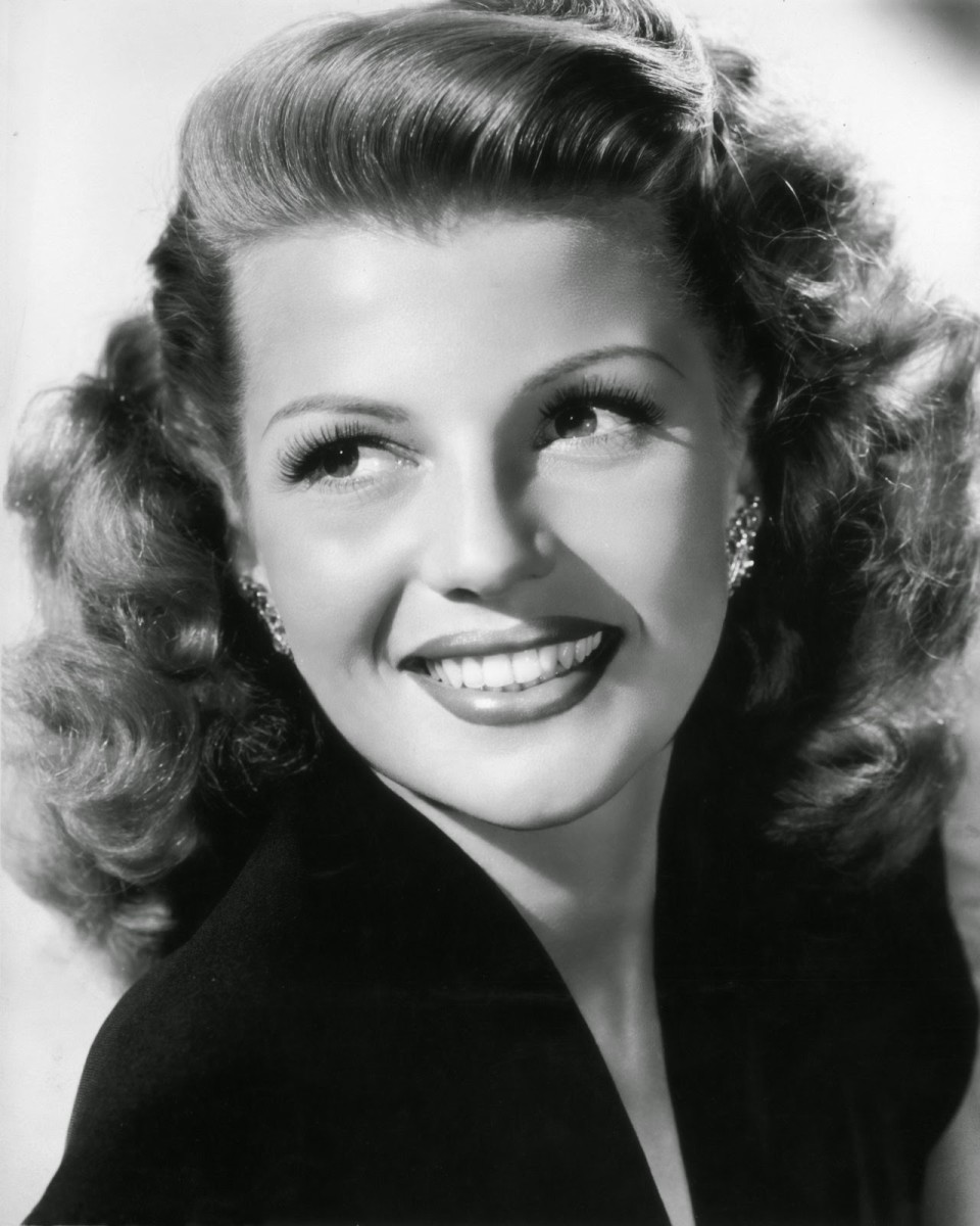 Hayworth striking a pose at the height of her success.