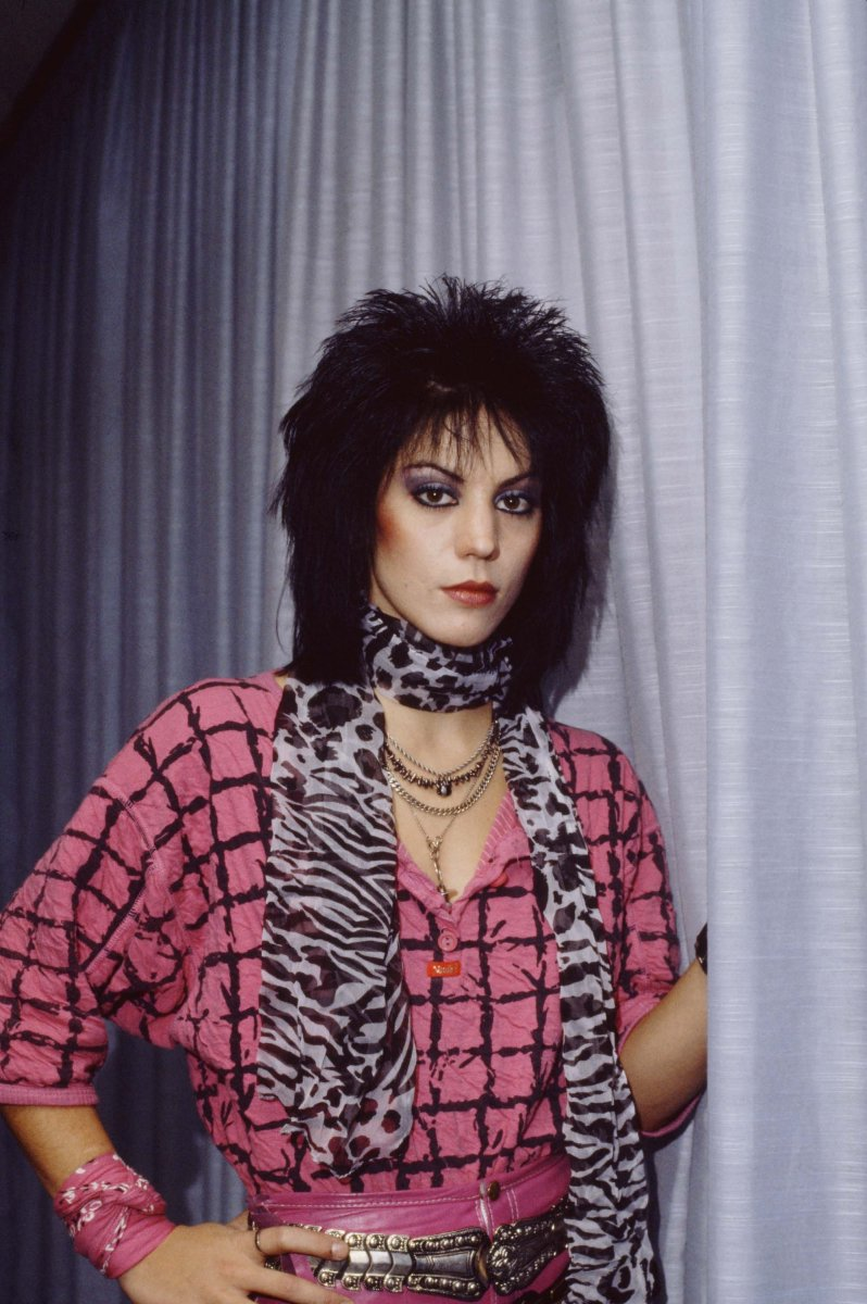 Joan Jett led the way for women to rock out.