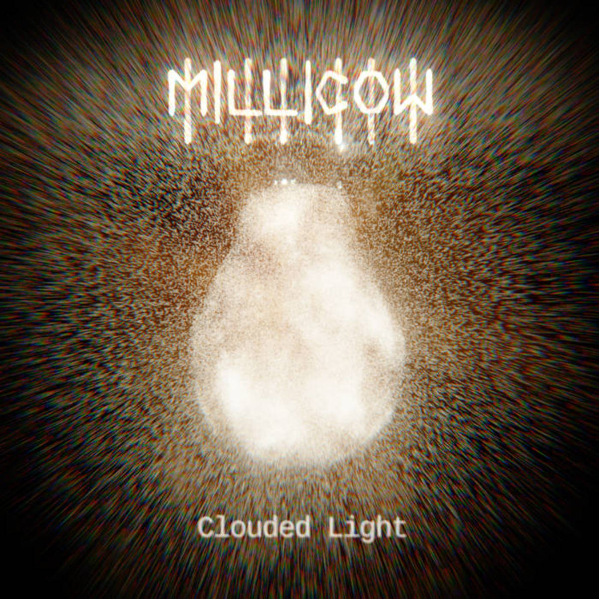 "Album cover for milicow's ""Clouded Light."""