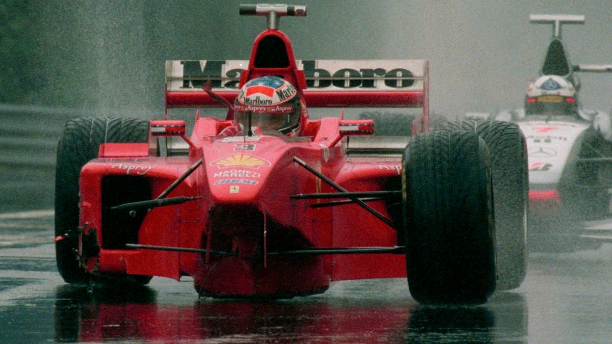 The 1998 Belgian GP: Schumacher Crashes and Loses the World Championship