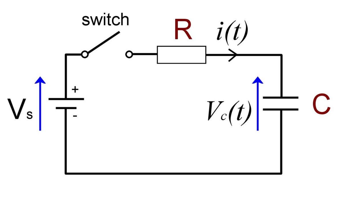 RC Circuit Formula Derivation Using Calculus