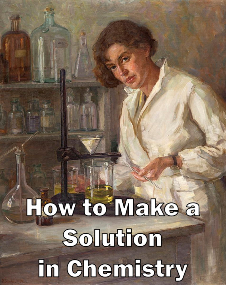 How to Make a Solution in Chemistry