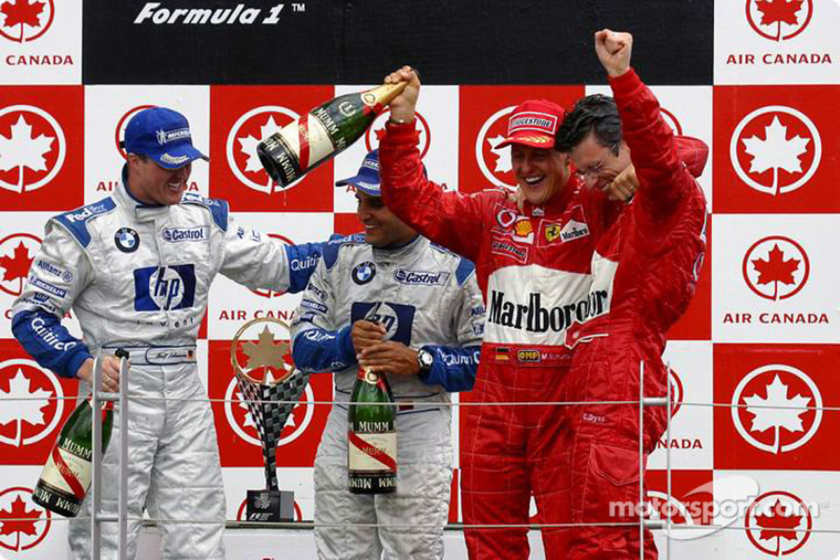 The 2003 Canadian GP: Michael Schumacher's 68th Win