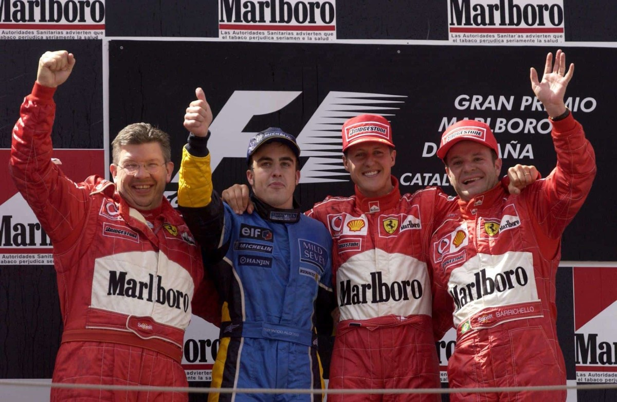 The 2003 Spanish GP: Michael Schumacher's 66th Win