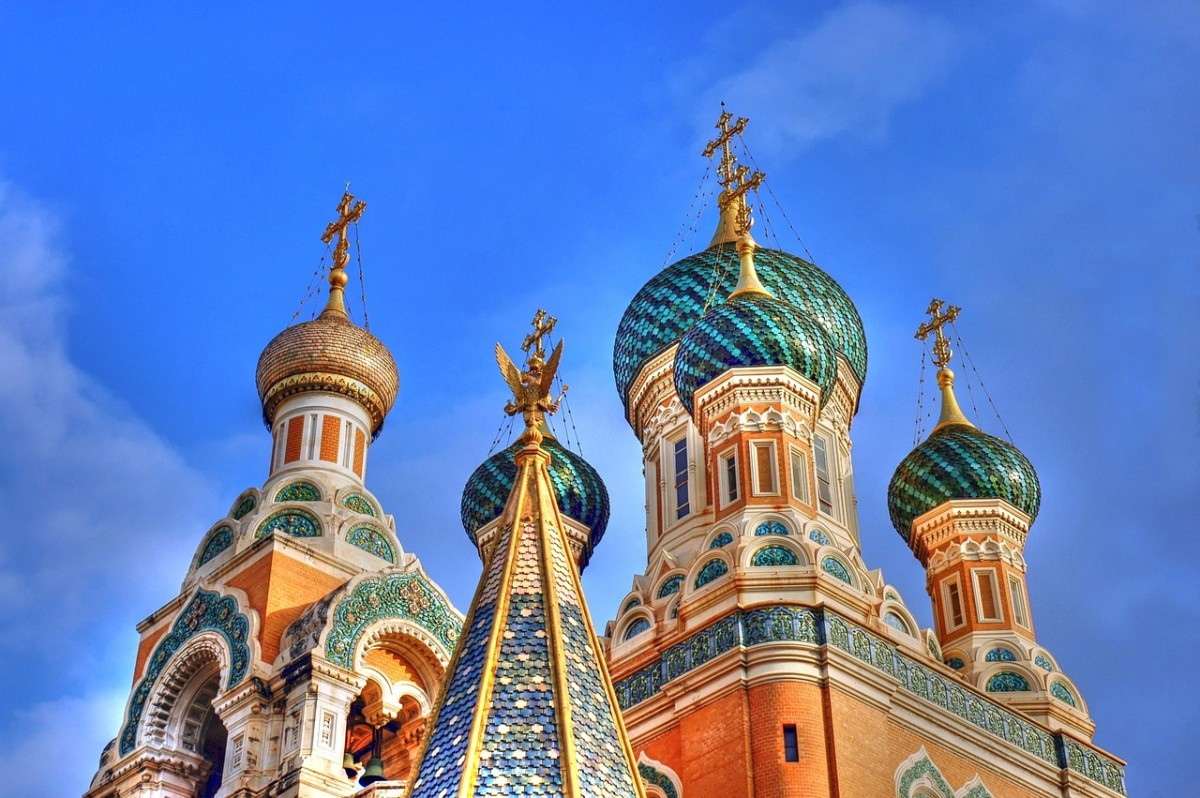 The beautiful Russian Basilica. Now I can visit it while comfortably asking for directions!