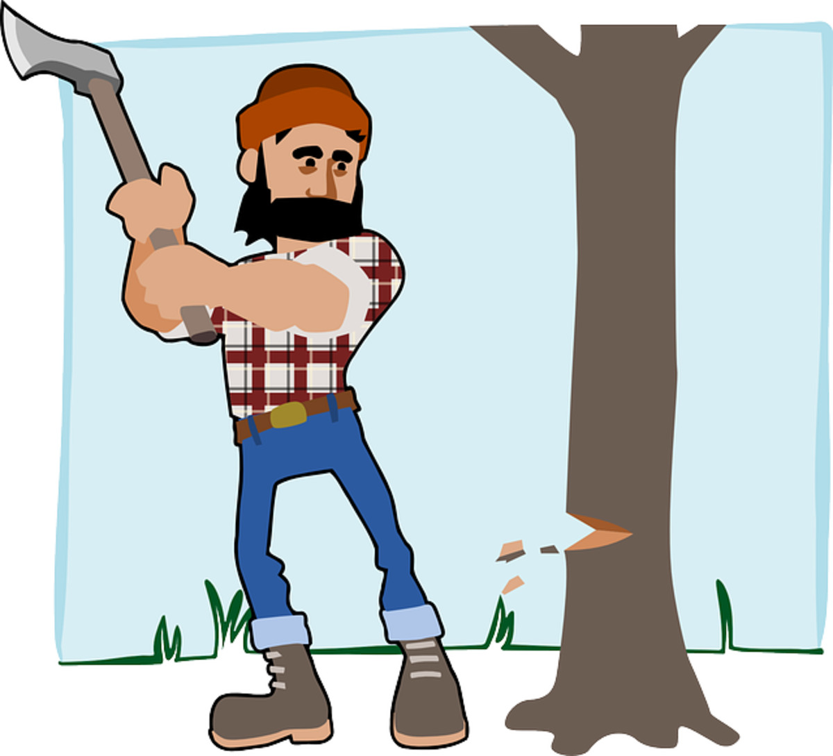 The Woodcutter and His Wife