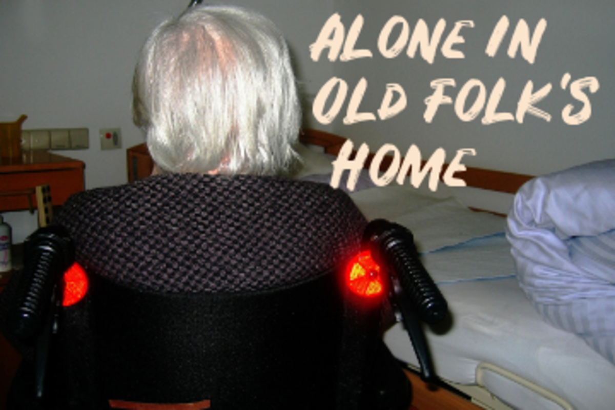 Poem: Alone in Old Folk's Home