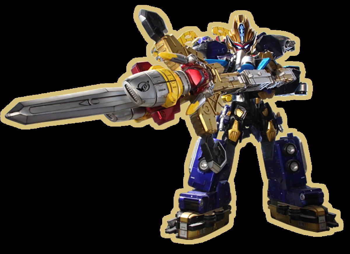 Beast-X King Zord (Sword form)