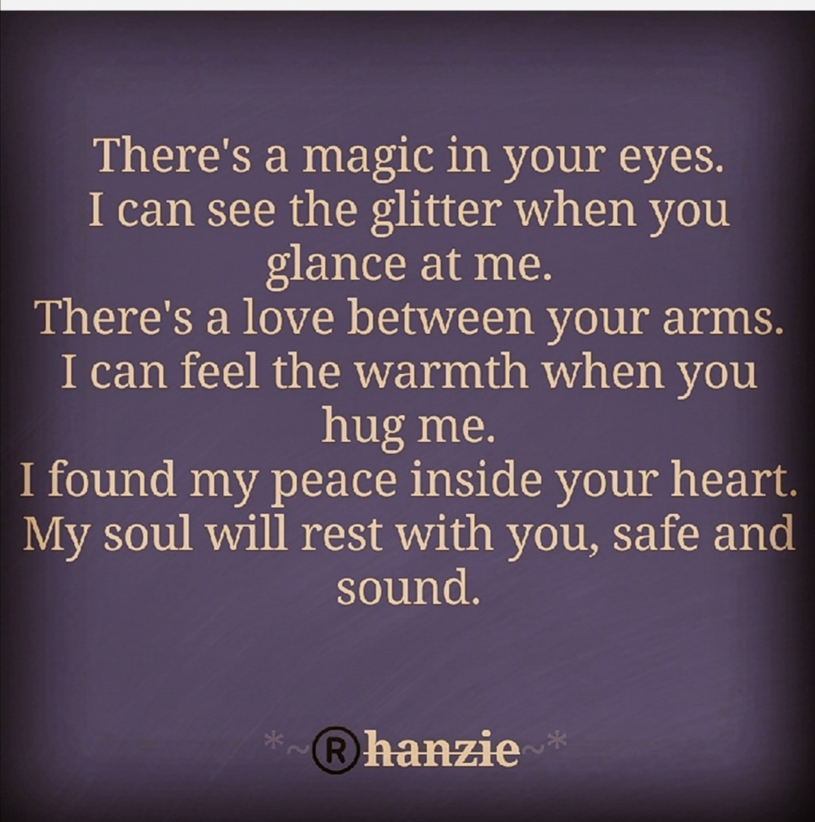 """""""... In your arms is... Where my soul rest..."""" - Rhanzie Flores"""