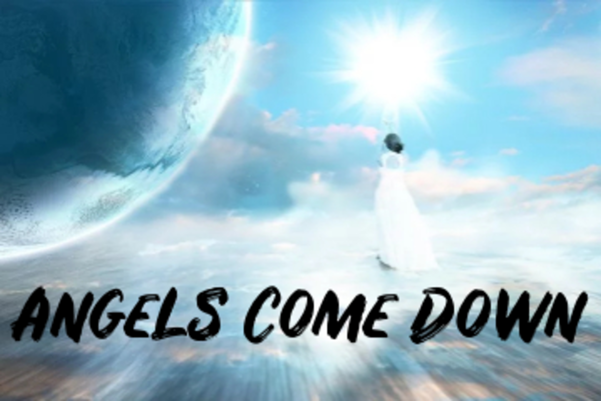 Alphabet Poem: Angels Come Down