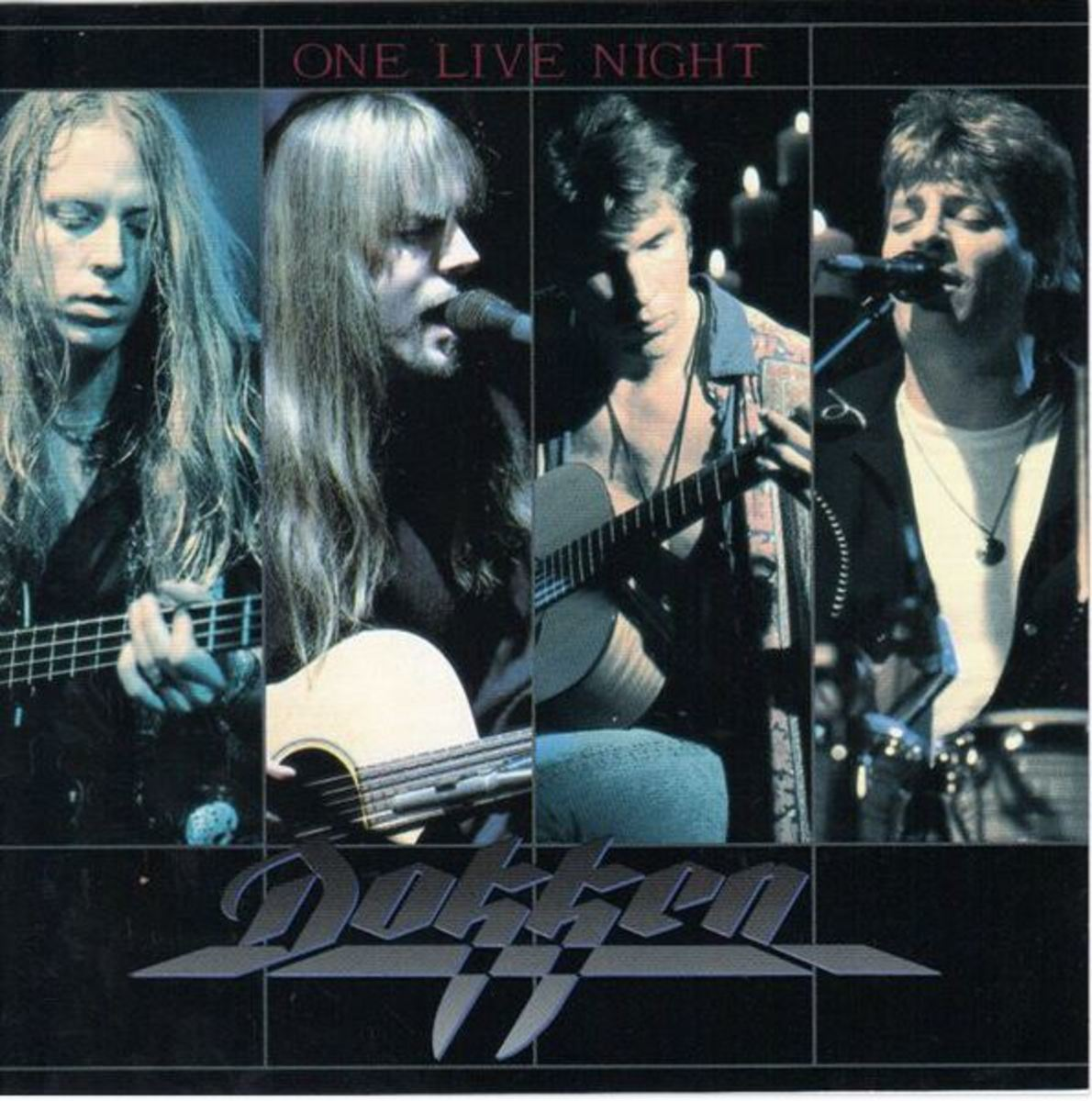 """Album cover for Dokken's """"One Live Night"""""""