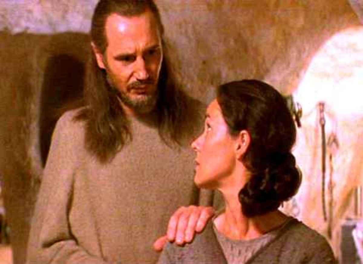 The UNTOLD Story of Qui Gon Jinn & Shmi Skywalker