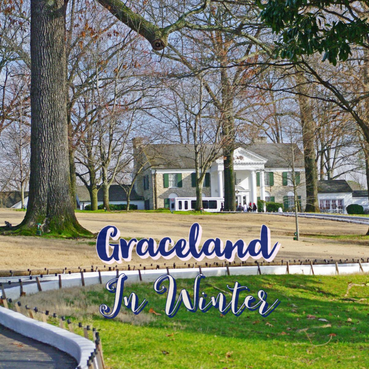 A Winter Visit to Graceland