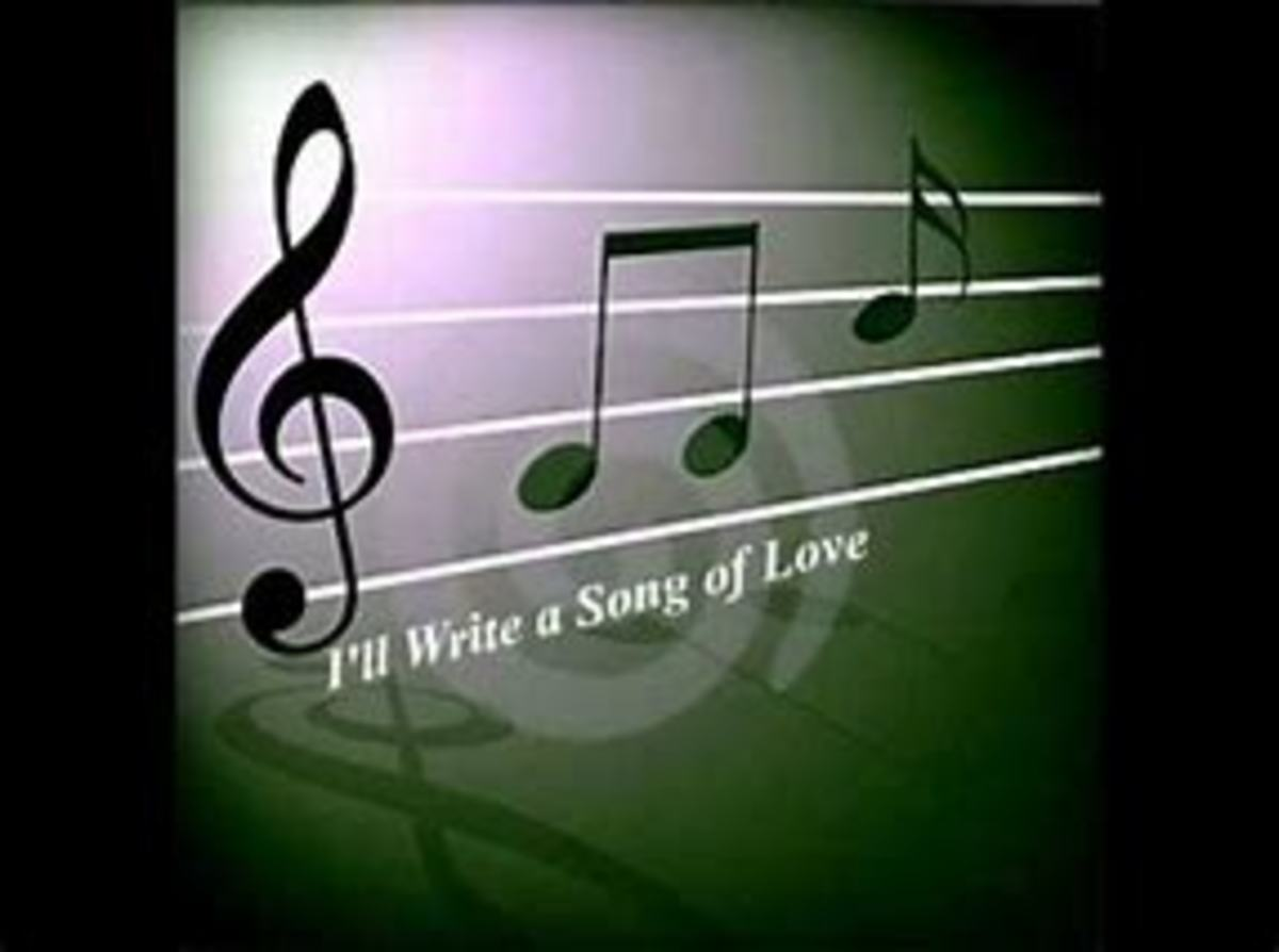 If I Could Write A Love Song
