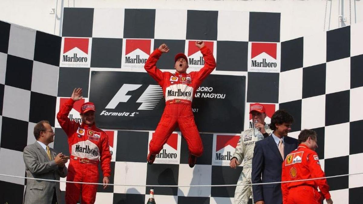The 2001 Hungarian GP: Schumacher Equals Prost's Record of 51 Wins