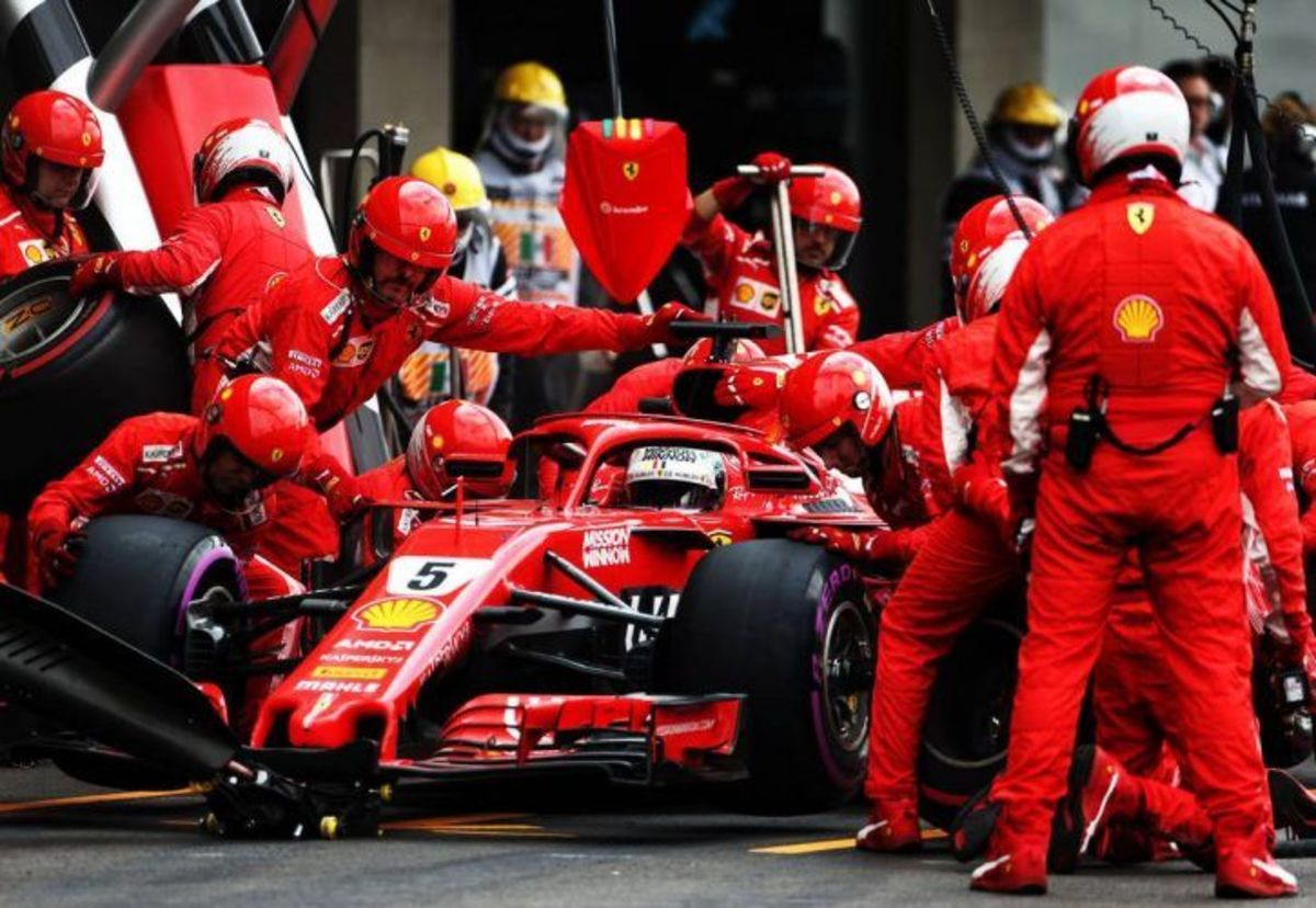 Fastest Formula 1 Pitstops