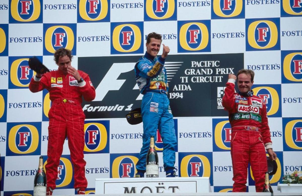 The 1994 Pacific GP: Michael Schumacher's 4th Win