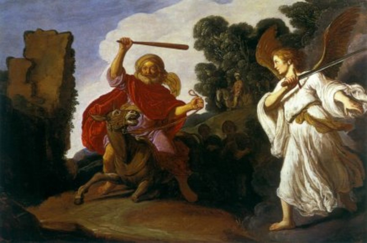 Balaam and the Ass - Pieter Lastman c. 1622