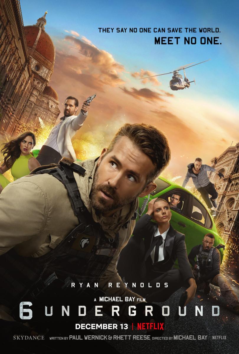 """Movie Review: """"6 Underground"""""""