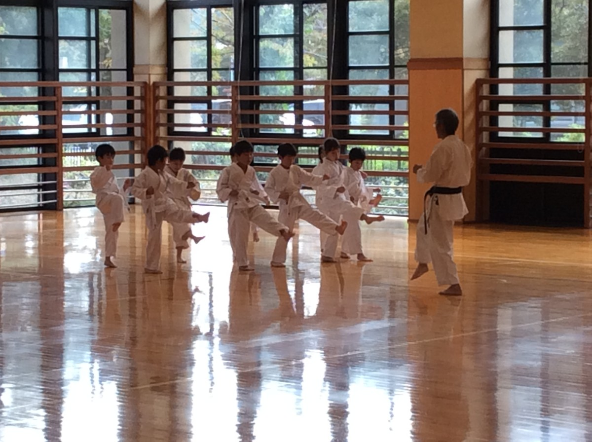 what-i-learned-from-watching-my-daughters-first-karate-lesson