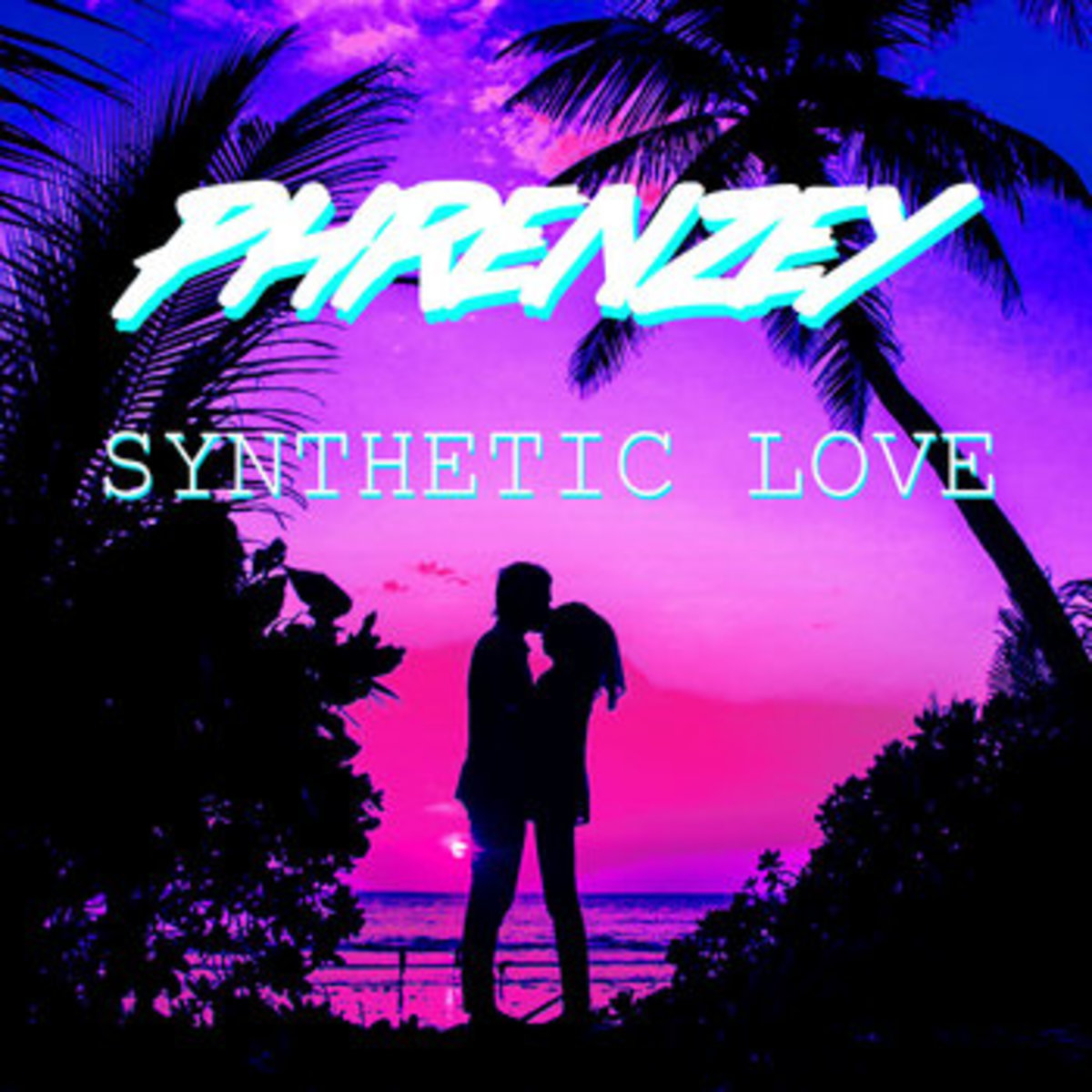 """Art for the single """"Synthetic Love,"""" by Phrenzey."""