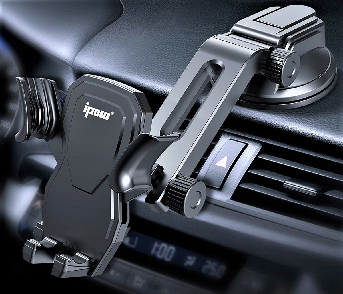 Ipow Car Phone Mount Review: Most Affordable Handsfree Gravity Smartphone Holder