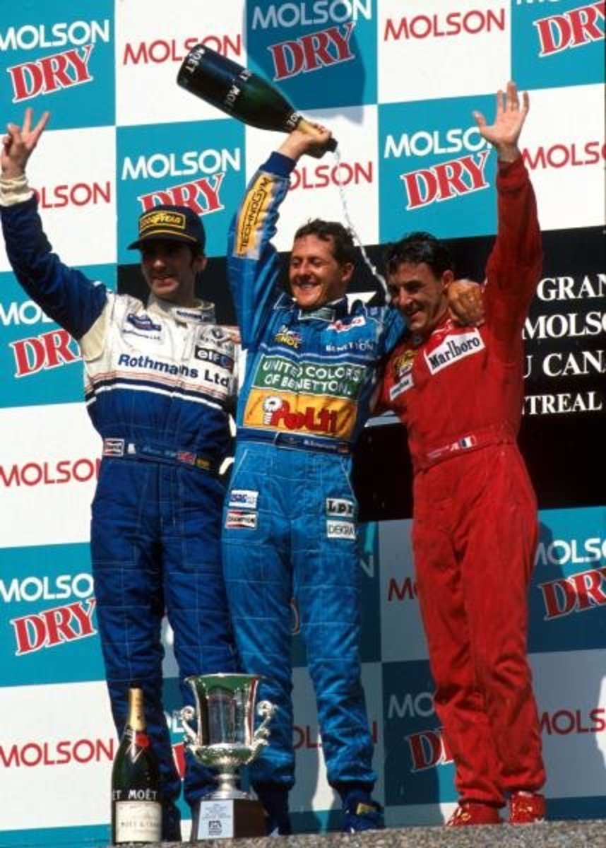 The 1994 Canadian GP: Michael Schumacher's 7th Win