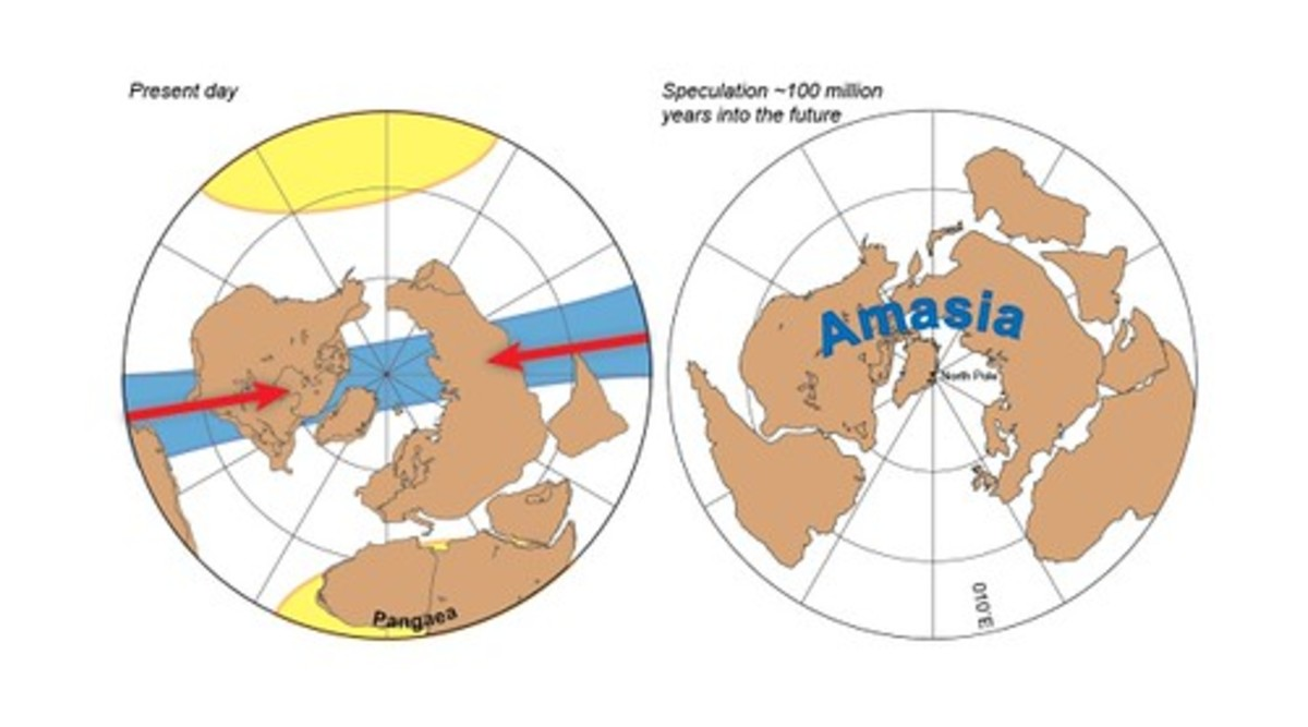 The New Supercontinent of Amasia