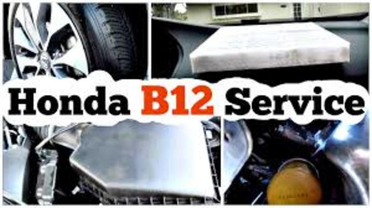 What Is the Honda B12 Service Notice?