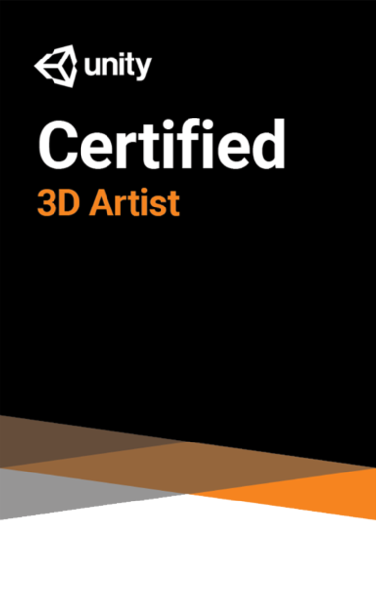 How to Become a Unity Certified 3D Artist