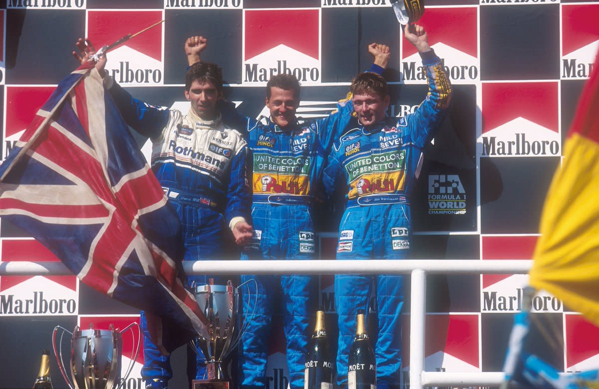 The 1994 Hungarian GP: Michael Schumacher's 9th Career Win