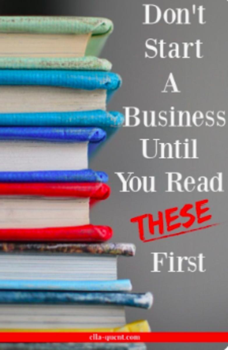 Don't Start a Business Until You Read These First!