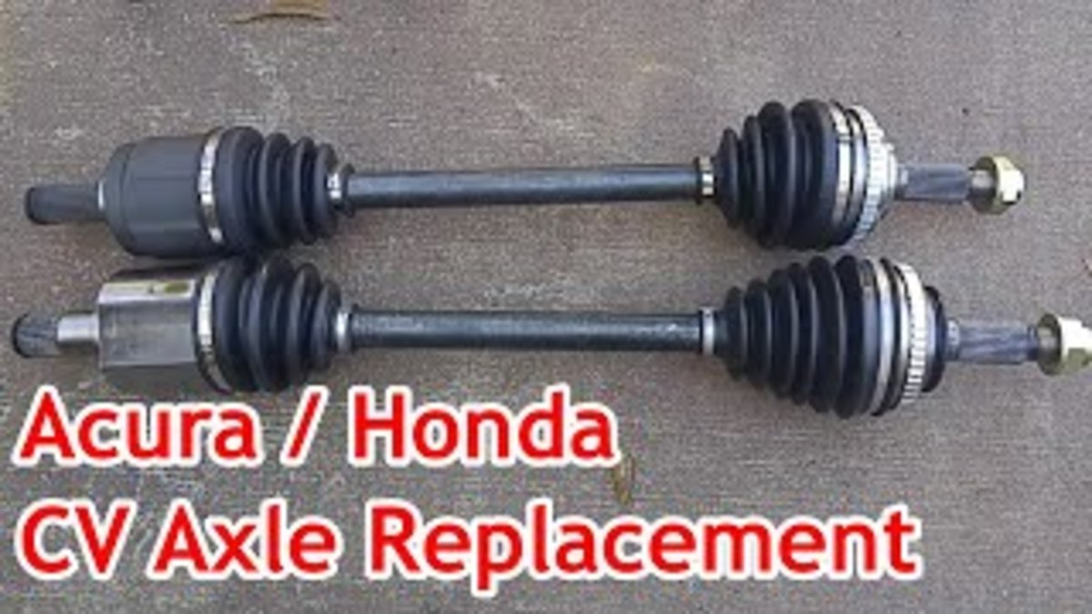 CV Axle Replacement for the Acura TL/CL and Honda Accord (With Video)