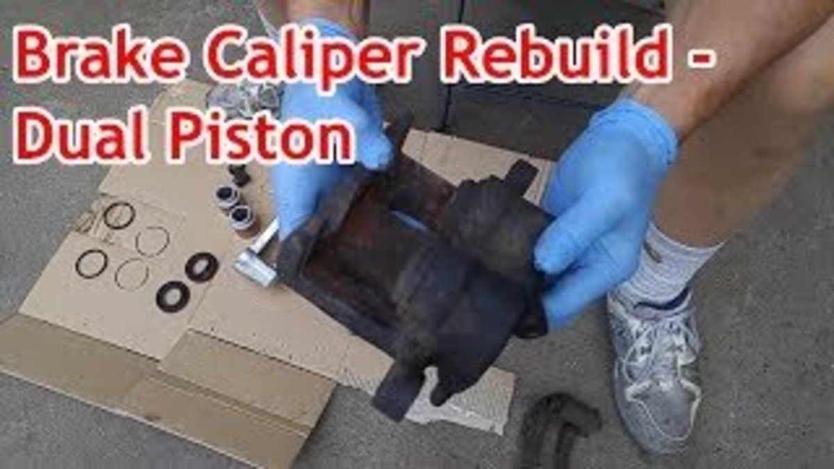 Brake Caliper Rebuild - Dual Piston - Seals, Dust Boots & Dust Boot Clip (with video)