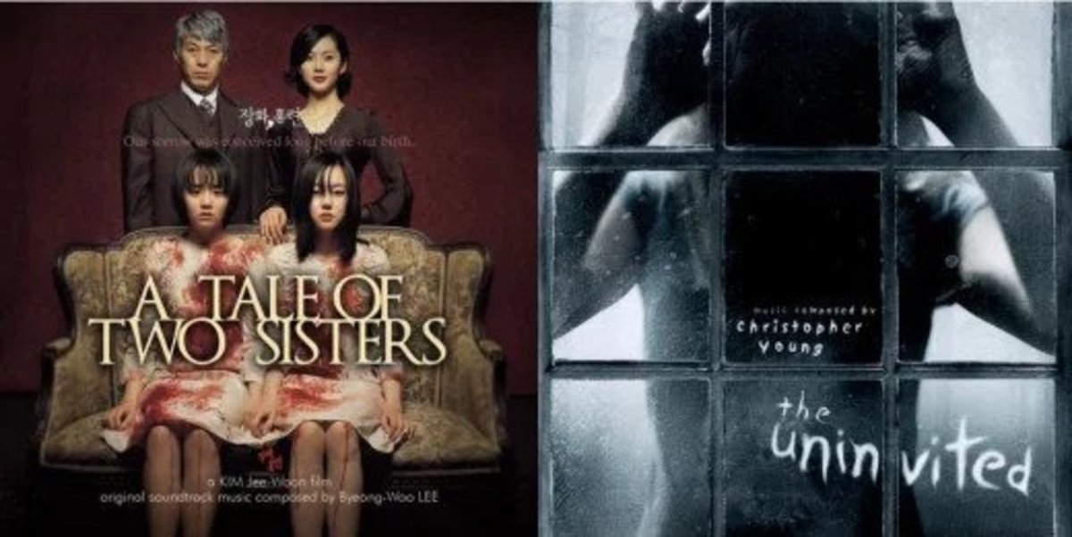 """""""A Tale of Two Sisters""""  vs """"The Uninvited"""" (Horror Film Comparison)"""