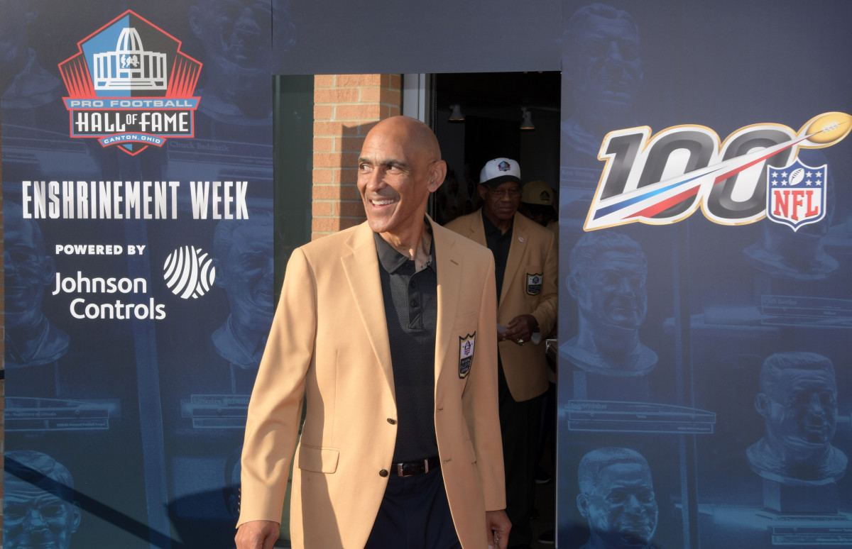 Former Steelers Player and Assistant Coach Tony Dungy
