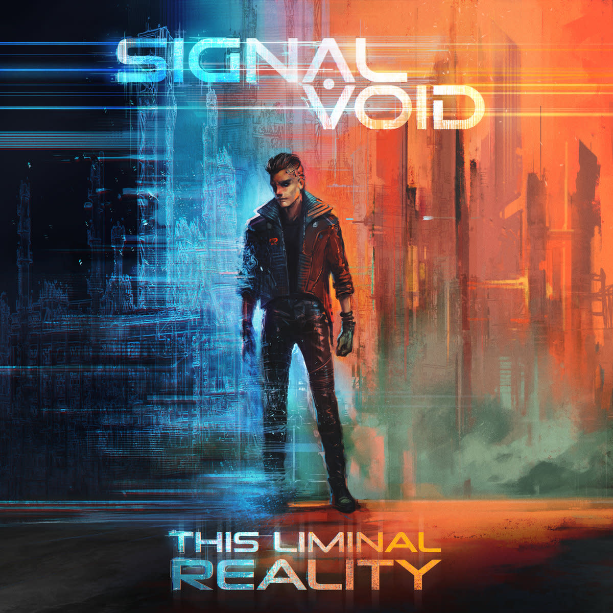 "New artwork for Signal Void's album, ""This Liminal Reality"""