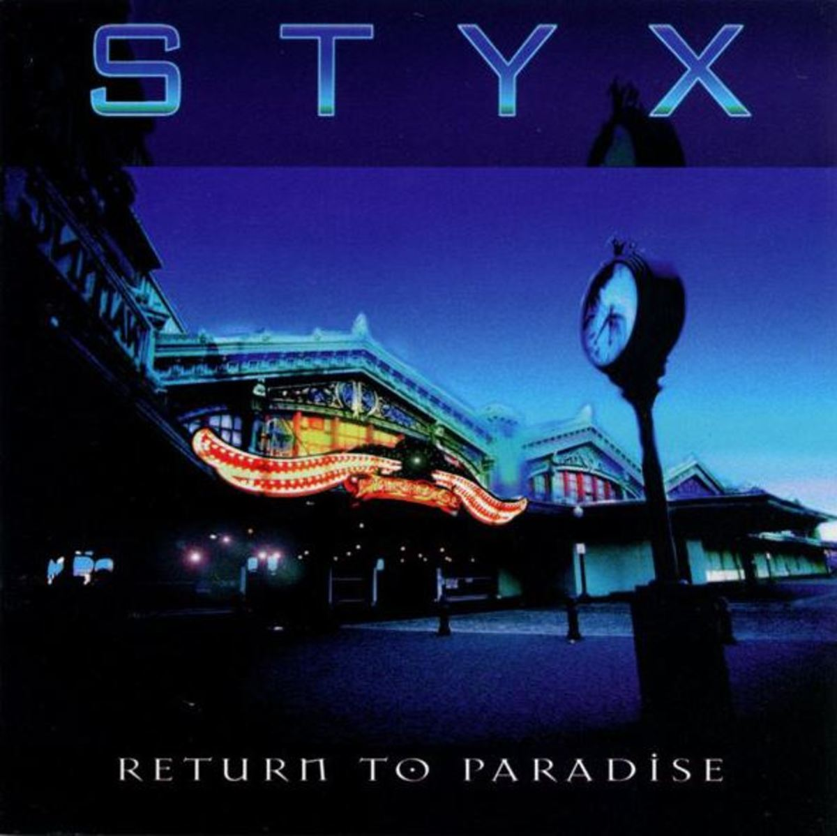 "Styx ""Return to Paradise"" album cover"