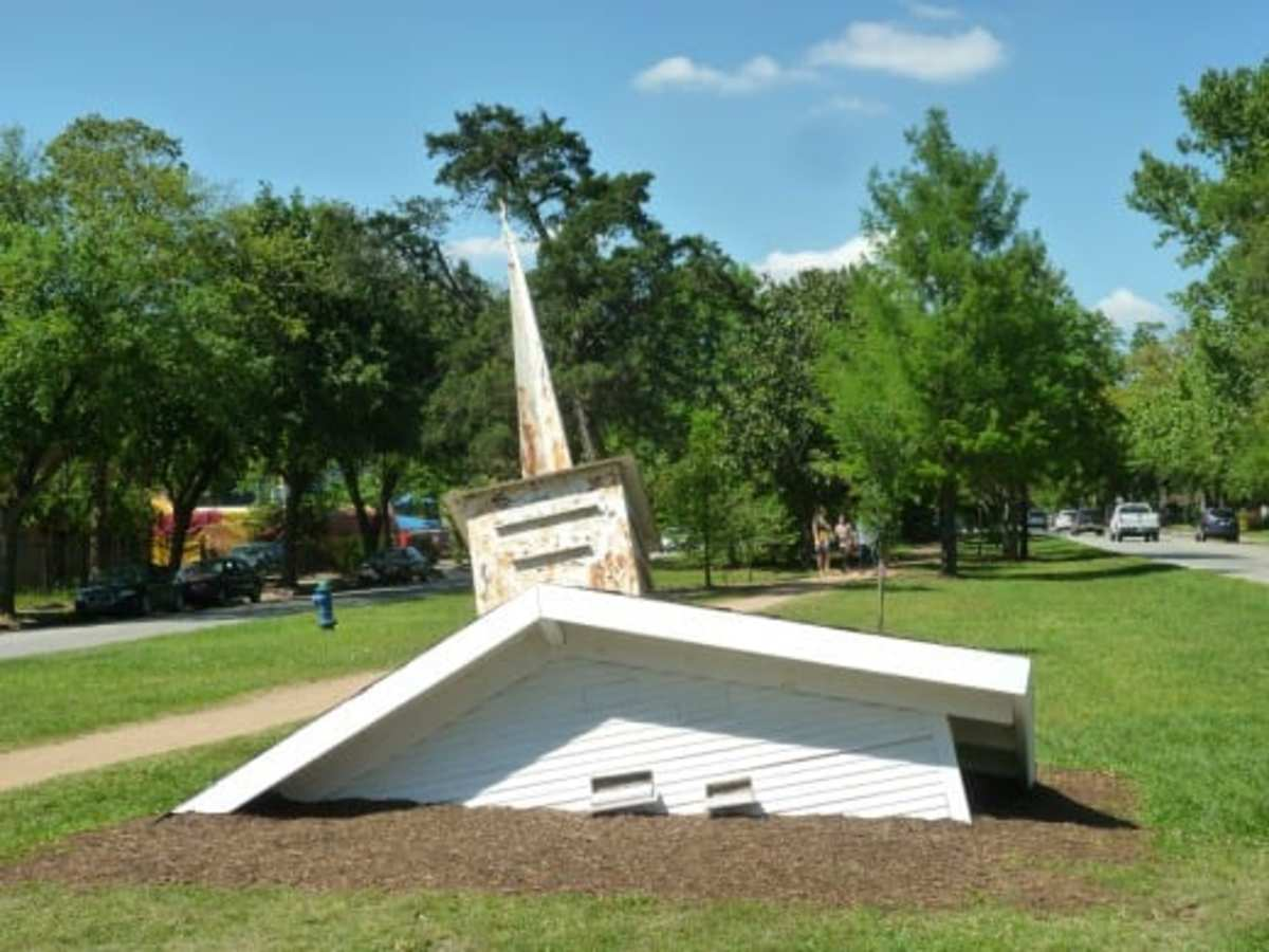 "Dan Havel Public Art: ""Wildlife Sanctuary"" in Houston"