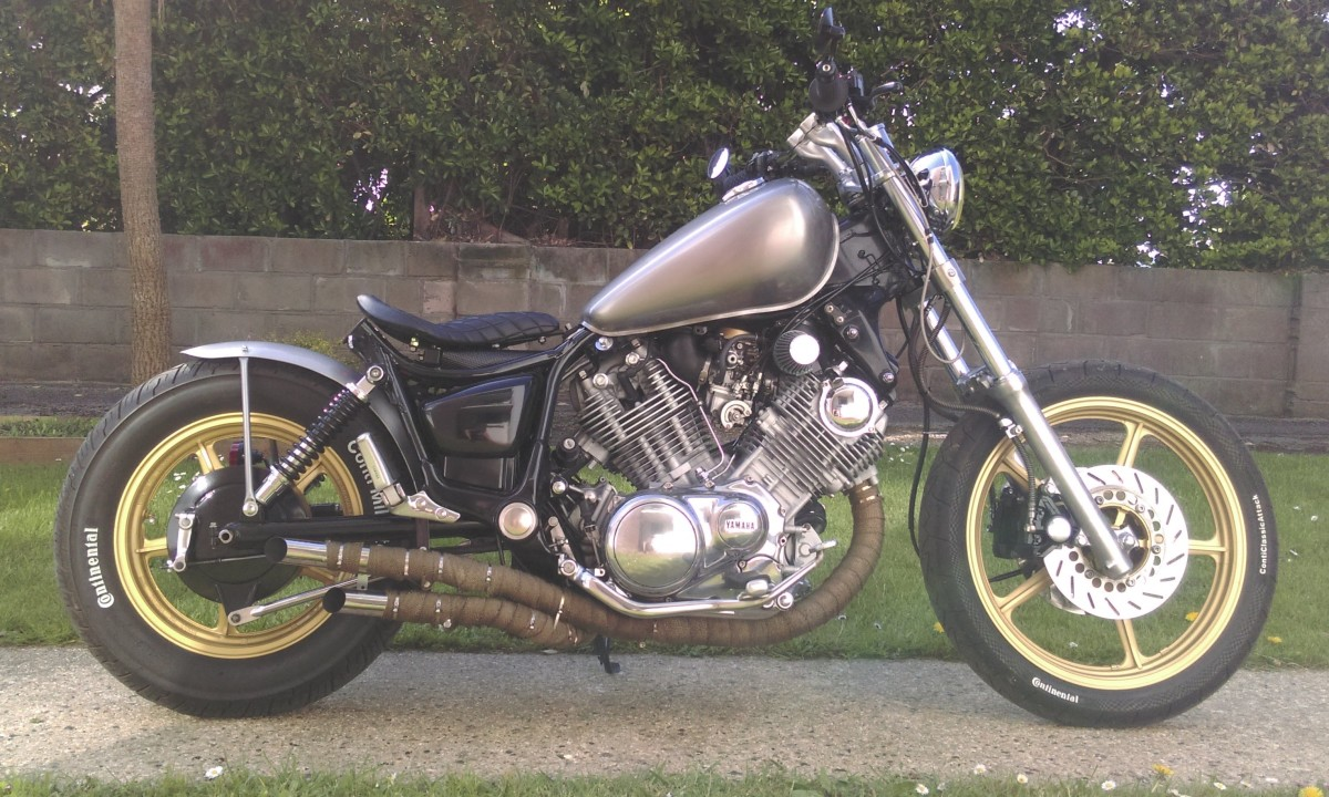 Virago 750 Bobber Build
