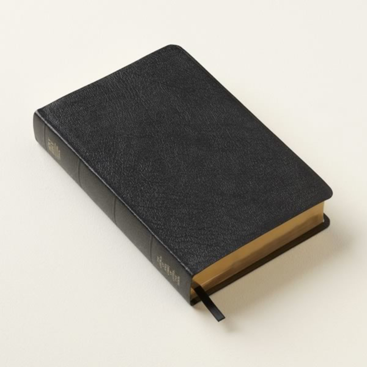 An example of bonded leather, often used for Bibles, inexpensive photo albums, and journals.