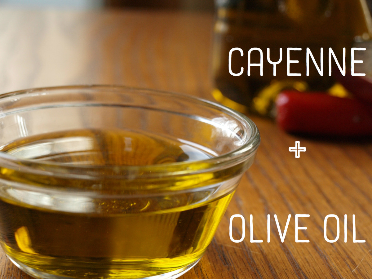 Image result for ginger, olive oil and cayenne pepper