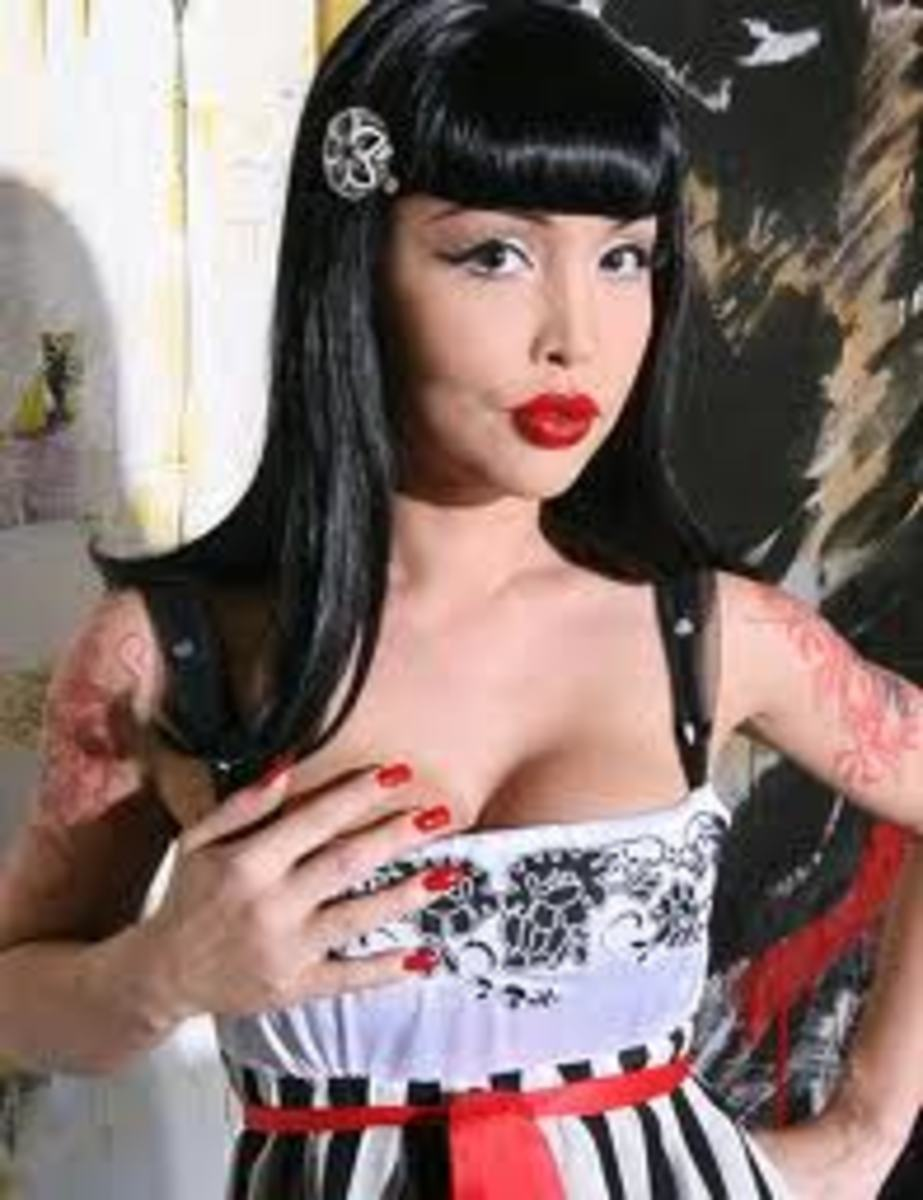 The Bettie Page Bangs