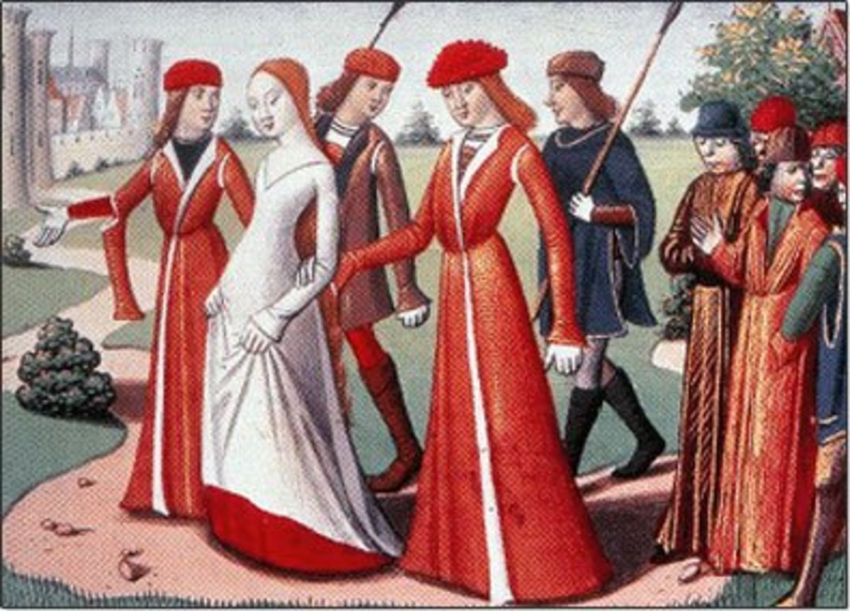 4a30fea036066 Fashion History of the High and Late Middle Ages - Medieval Clothing ...