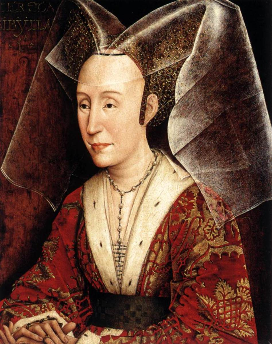 Late Middle Ages - Queen Isabella of Portugal in a Burgundian Style Costume