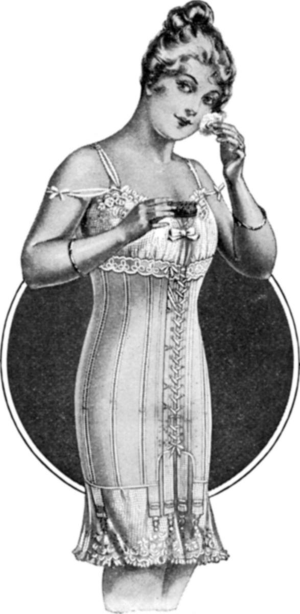 1917 Spirella Corset