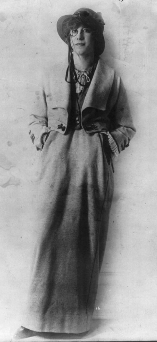 1914 Poiret Gray Suit
