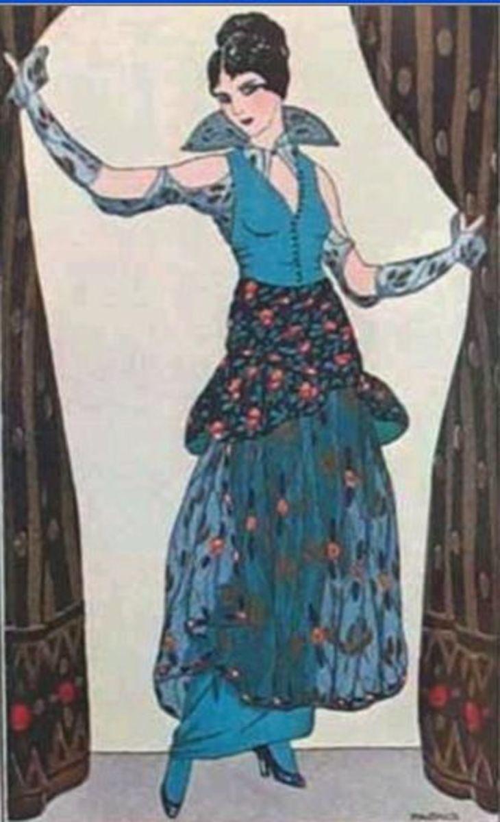 1914 Barbier Sketch