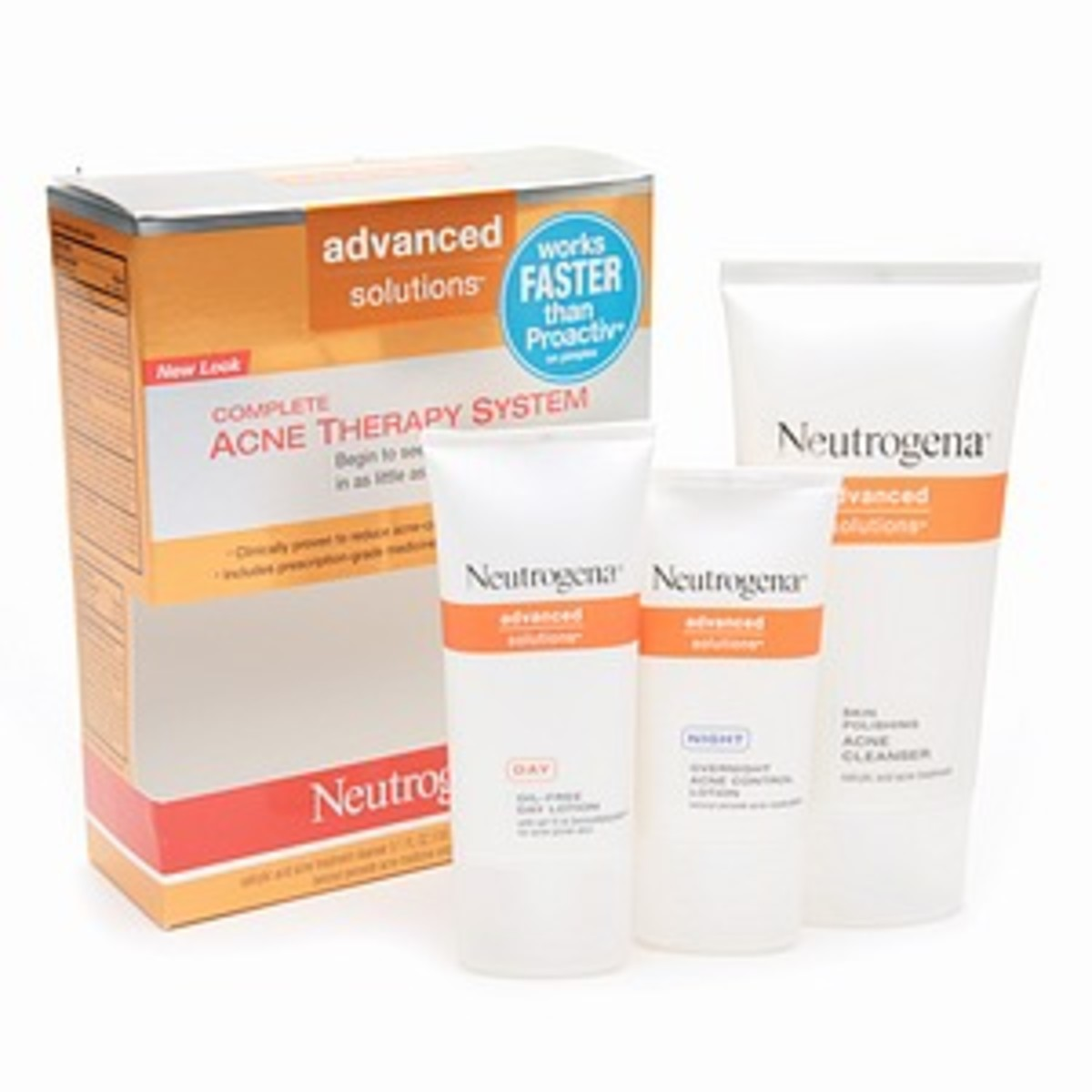 Neutrogena's Advanced Solutions Acne Therapy System